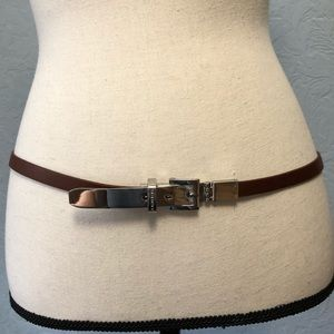 Michael Kors Skinny Belt Leather Dressy C24P
